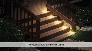 deck accent lighting. Solar Deck Stair Lights @lighting Outdoor Lighting Ideas Stairs Accent