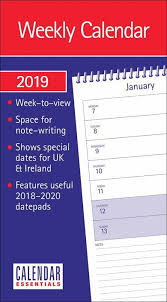 Basic Calendars Basics Calendars Planners Diaries More For 2019 Calendar Club Uk