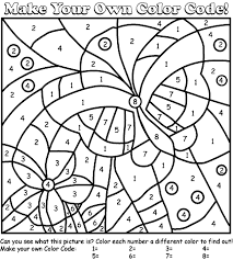 Small Picture Butterfly Color by Number Coloring Page crayolacom