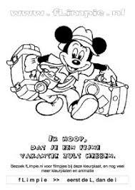 Mickey Mouse Kleurplaten Flimpie