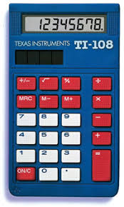 texas instruments ti basic calculator schoolmart texas instruments ti 108 basic calculator