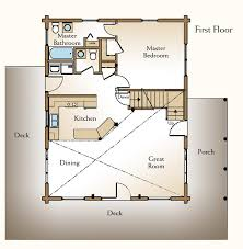 Cabin Floor Plan With Loft Plans Free Download   same yte