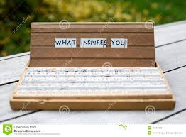 what inspires you stock photo image  what inspires you