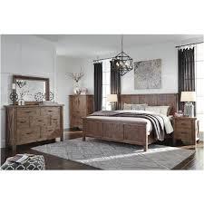 Vintage inspired bedroom furniture Crack Paint 3200jpg Home Living Furniture Tamilo Graybrown Bedroom Set Ashley Furniture