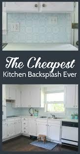 Cheap Backsplash The Cheapest Diy Backsplash Ever Lovely Etc
