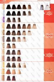 Matrix Demi Permanent Hair Color Chart