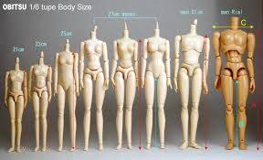 Obitsu 1 6th Scale 11cm 27cm Measurements