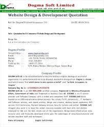 Freelance Quote Template Web Development Estimate Template Proposal Website Project Quote