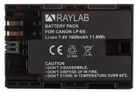 <b>Аккумулятор Raylab RL-LPE6</b> 1600мАч — купить в интернет ...