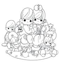 Coloring Pages Precious Moments Coloring Free Printable Pages For