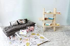 modern miniature furniture. Modern Dollhouse Furniture Retro Living Room . Miniature N