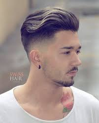 tapered short back and sides hairstyles