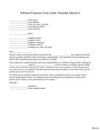 Cover Letter For Software Engineer Underwriting Technician Cover Letter Site Reliability Engineer 9