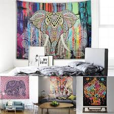 tapestry wall hanging tapestries blankets polyester bohemian mandala beach shawl bath towel hippie throw yoga mat wall carpet tapestry