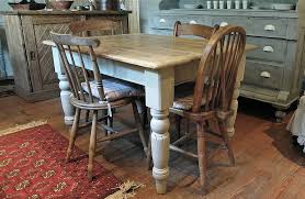 kitchen entranching farmhouse kitchen tables and chairs distressed table jpg in country from likeable country