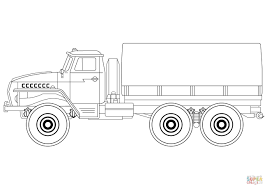 Small Picture Army Truck coloring page Free Printable Coloring Pages