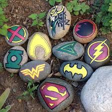 Rock decorating ideas Painting Ideas Rock Decorating Ideas Awesome Super Heroes And Loki Rulez Painted By Sketchymarks Acrylicrocks Badtus Rock Decorating Ideas Best Of 657 Best Fun With Stones And Rocks