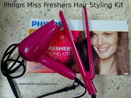 home18 teleping experience philips miss freshers hair styling kit review