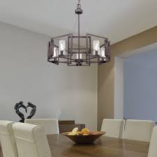 golden lighting chandelier. Golden Lighting 6068-5 GMT Marco 5 Light Chandelier In Gunmetal Bronze With Clear Glass