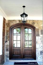 wooden double front doors feature update on the house rebuilt wood with glass oak exterior wooden double front doors