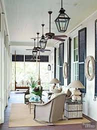ceiling fan for screened porch open rafter ceiling what size