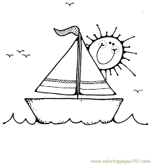 Small Picture Boat Coloring Page 16 Coloring Page Free Water Transport