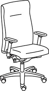 office chair drawing. Perfect Chair 440x800 HON Ignition Executive Pneumatic High Back Office Chair Intended Drawing O
