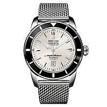 men s breitling watches ernest jones breitling superocean heritage 46 men s bracelet watch product number 9113185