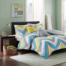 bedding beautiful 5pc teal blue grey