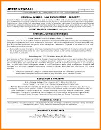 7 Criminal Justice Resume Quit Job Letter