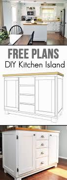 16 diy kitchen island ideas find free kitchen island tutorials