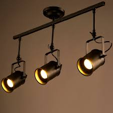vintage track lighting.  vintage aliexpresscom  buy retro loft vintage led track light industrial ceiling  lamp bar clothing personality spotlight three heads from reliable light  on lighting t