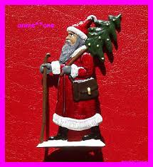 Weihnachtsbaumschmuck Weihnachten Zinn Handbemalt Alt