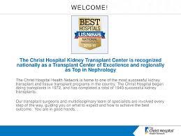 The Christ Hospital Health Network Kidney Transplant Program