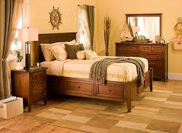 Westlake 4-pc. Queen Platform Bedroom Set w/ Storage Bed - Cherry ...