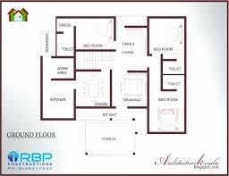 four bedroom house plans in kerala elegant single floor 4 bedroom house plans kerala elegant home