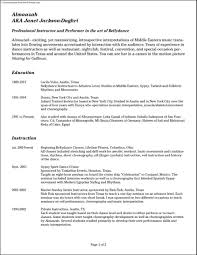Audition Resume Template Audition Resume Format Gallery Of Audition Resume Template 4