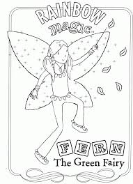 Small Picture Rainbow Magic Fairies Coloring Pages Coloring Coloring Pages