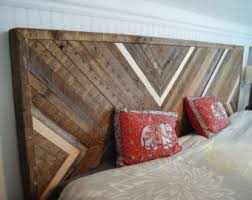 reclaimed wood headboard, upcycled wood headboard (king sized, other sizes  available upon request