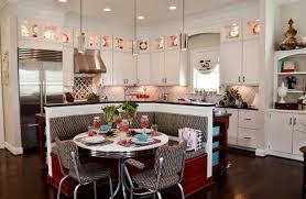 Retro Kitchen Design Retro Kitchen Design Ideas L Shaped Cream Finish Mahogany Kitchen