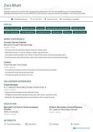 impressive resume example cashier resume sample monster com impressive curriculum vitae bank
