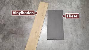 Hohe dämmwirkung bei geringer materialdicke. Vinylboden Oder Fliesen Welcher Bodenbelag Ist Besser Planeo