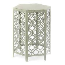 metal accent table. Metal Accent Table A