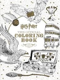 Small Picture Harry Potter The Official Coloring Book by Scholastic Paperback