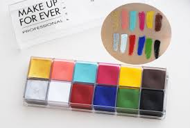makeup forever 12 flash color case grease paint makeup beauty review swatch