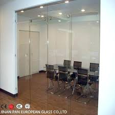 Office Double Doors Glass Used French