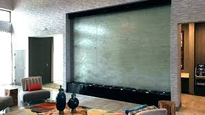 architecture indoor waterfall incredible water wall decor modernist in from diy fountains awesome how to build
