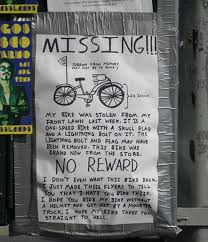 lost and found flyers all of these funny lost and found flyers are worth stopping to read