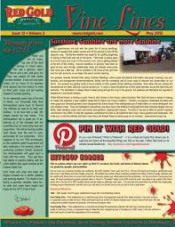 May 2012 Vine Lines Newsletter - Red Gold