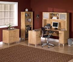 l shaped home office desk. The Benefits Of L-shaped Home Office Desks : Modern Traditional Maple Wood L Shaped Desk